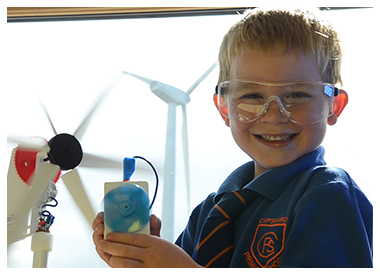 Child turbine and solar