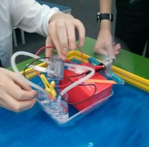 Fuel Cell Boat Model